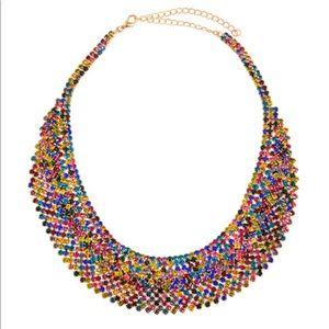 Natasha Multicolor Jewel Necklace NWT